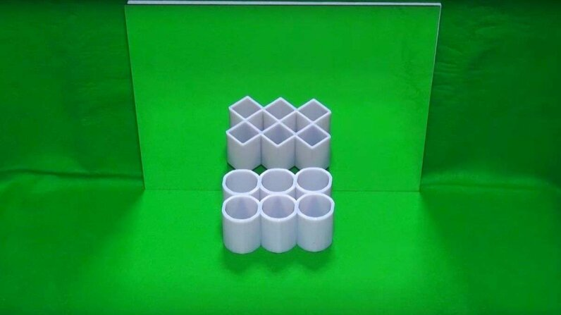 """""""Ambiguous Cylinder Illusion"""" came second in the 2016 Best Illusion of the Year contest. Illusion of the Year/Neural Correlate Society"""