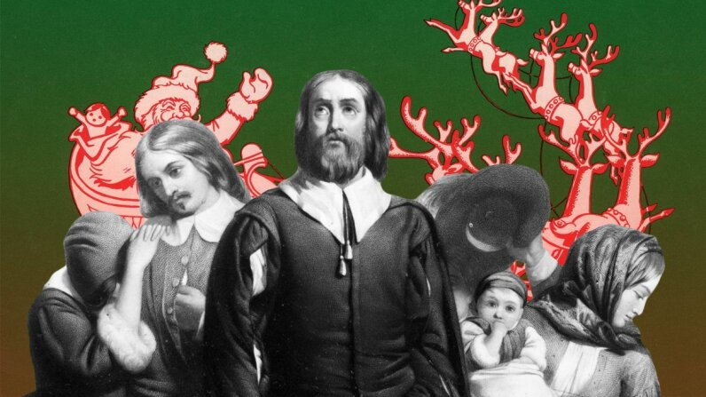 The Puritans were the ultimate Christmas killjoys when they got to the New World. GraphicaArtis/Archive Photos/Three Lions/Hulton Archive/Getty Images