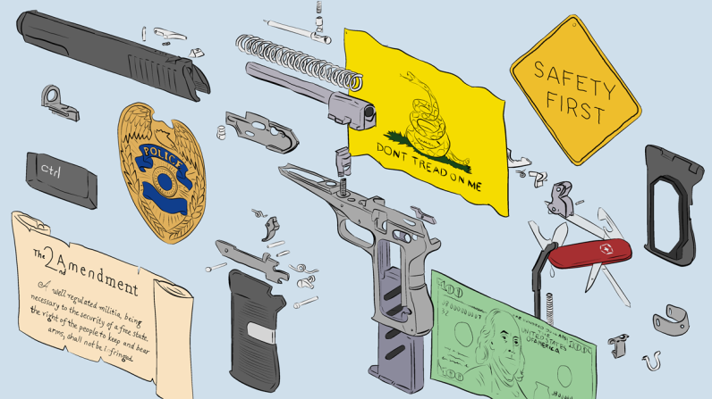 Christian Sager gun illustration
