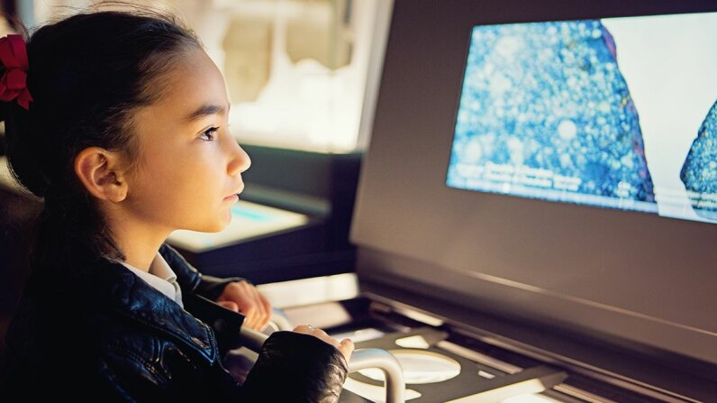 Whether a student more easily learns information visually depends more on the subject matter than on the individual student. praetorianphoto/Getty Images