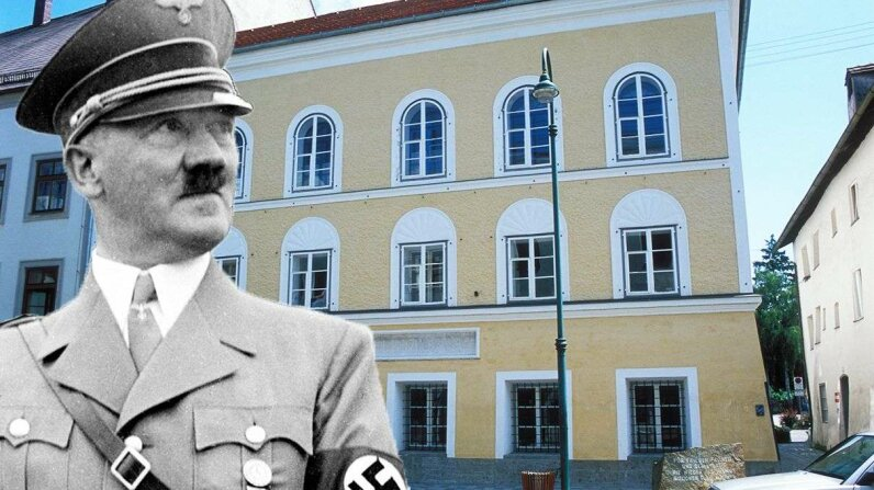 The German leader and architect of genocide was born in 1889 in this building in the Austrian border town Braunau am Inn. Roger-Viollet/Schnrer/Ullstein Bild/Getty Images