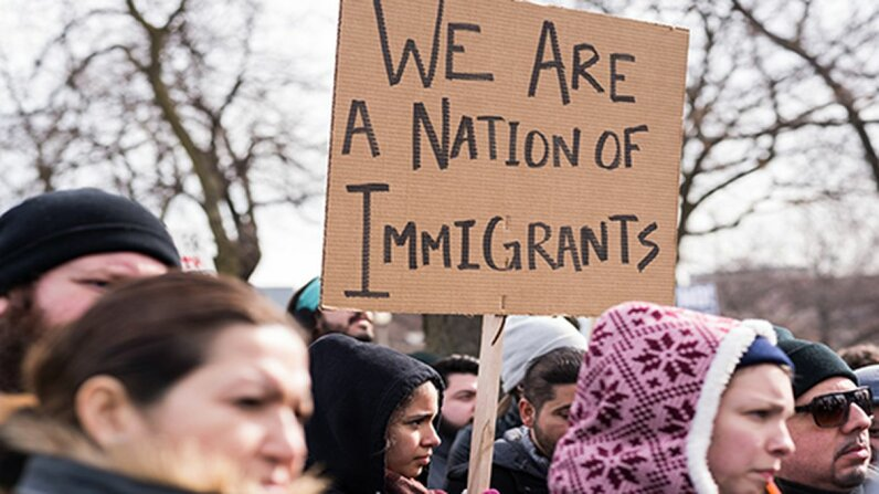 A joint study by three universities found no link between an increase in immigrants and an increase in crime. Max Herman/NurPhoto via Getty Images