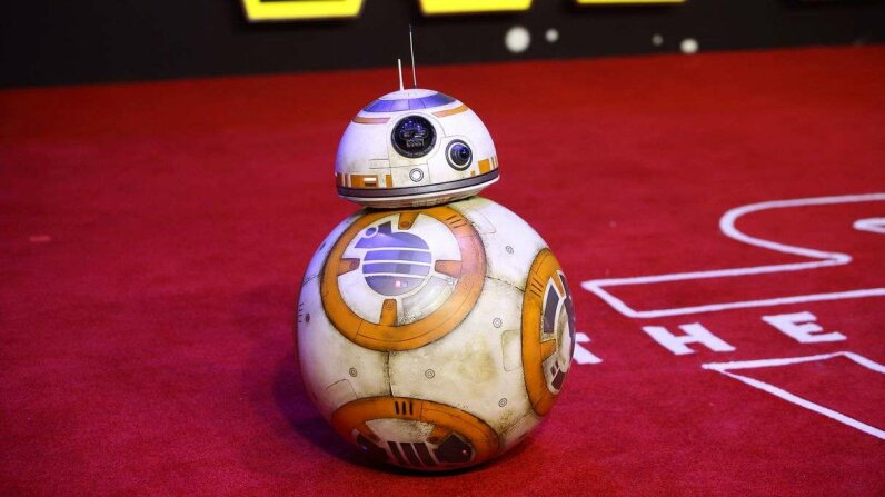 "BB-8 on the red carpet at the European Premiere of ""Star Wars: The Force Awakens"" at Leicester Square on Dec. 16, 2015 in London, England. Mike Marsland/WireImage/Getty Images"