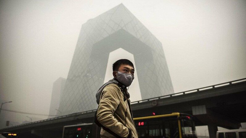 More than a million people die every year in China due to poor air quality. Kevin Frayer/Getty Images