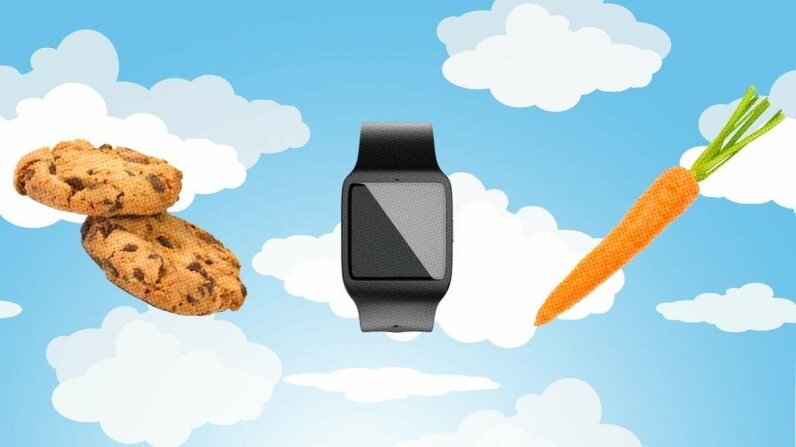 IBM is developing wearable tech that could sync with smartphones or watches using the Appetit app to predict moods and cravings up to 20 minutes before they strike. iStock