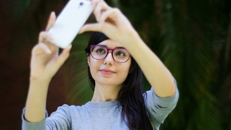 Amazon recently filed a patent for new security technology based on selfies. Elizabeth Fernandez G./Getty Images