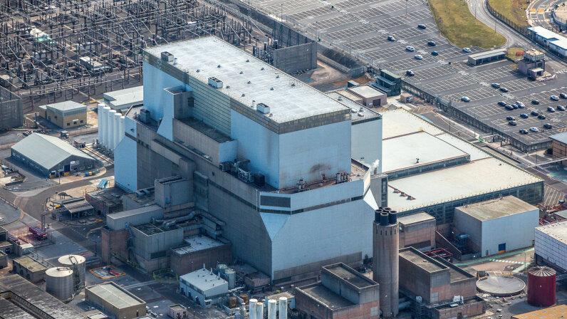 Hinkley Point B Nuclear Powerstation, England