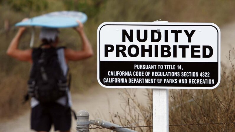 national parks, nudity