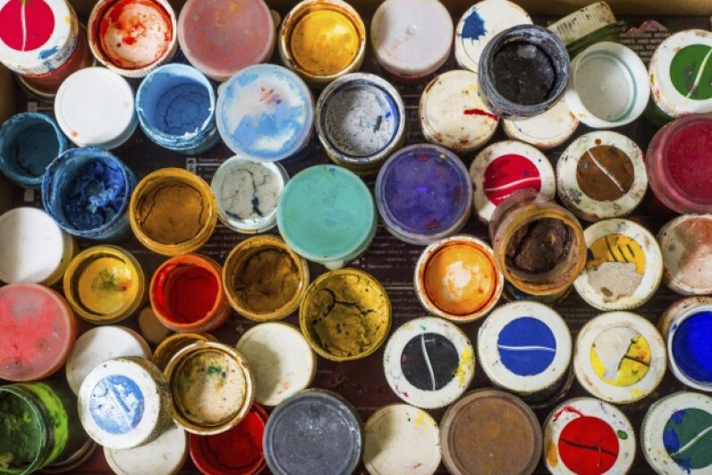 Whatever color you decide on, don't compromise on the quality, unless you enjoy spending every few summers on a ladder with a paintbrush in hand. angela940/iStock/Thinkstock