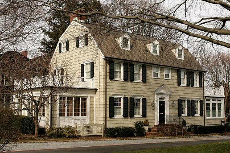 Located at 112 Ocean Ave, in Amityville, N.J., the 'Amityville Horror House' is still a private residence. No paranormal activities have been reported since the infamous events of 1975. Paul Hawthorne/Getty Images