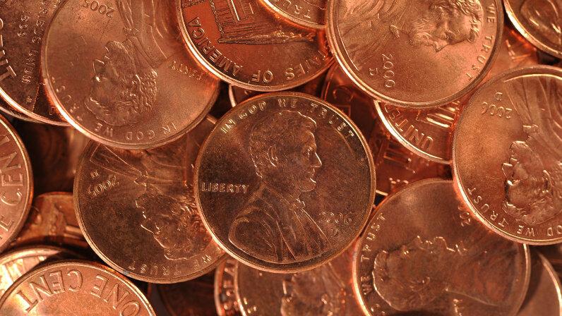U.S. pennies