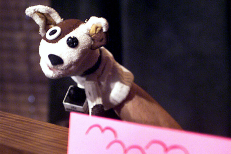 The Pets.com sock puppet was the company's high-profile spokesperson. Scott Gries/Hutton Archive/Getty Images