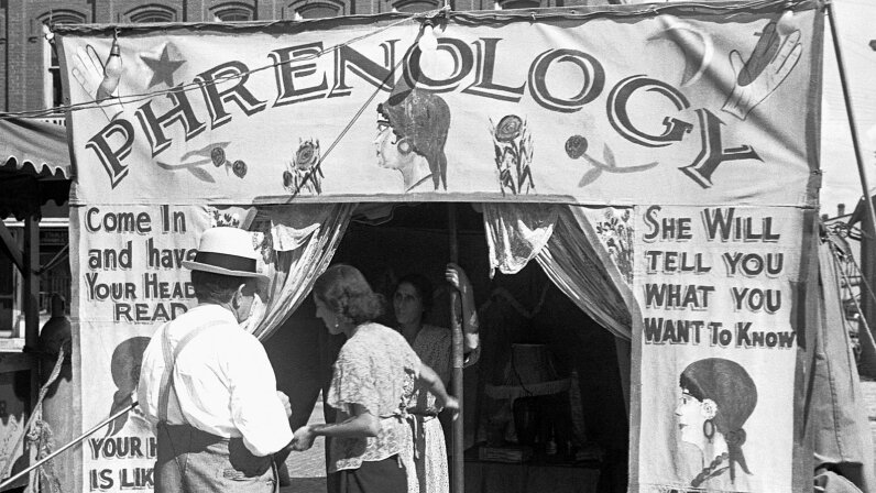 phrenology booth