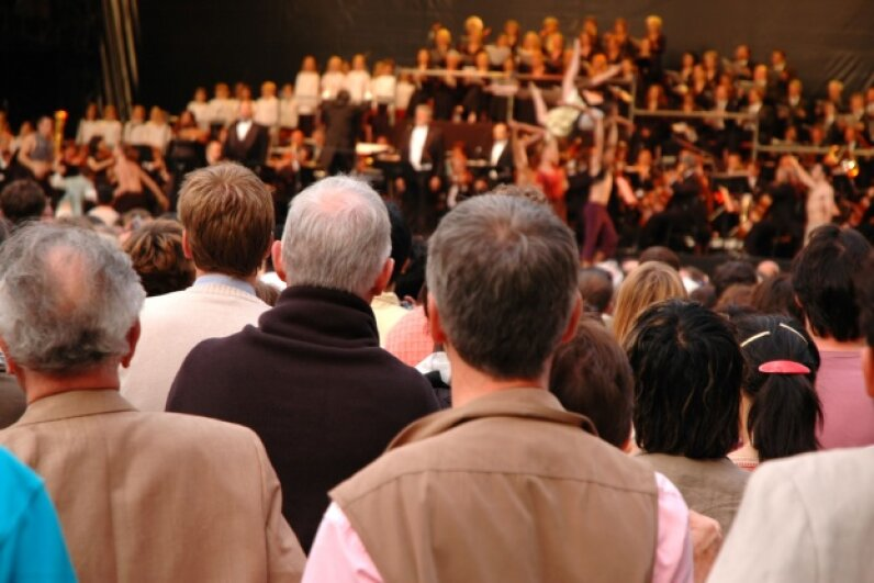 Even if an audience has never heard a piece of music before, listeners can intuit what will happen next, because we instinctively recognize and anticipate patterns. ©eurobanks/Thinkstock