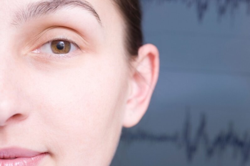 Your ears are naturally able to detect frequency fluctuations. ©moodboard/Thinkstock