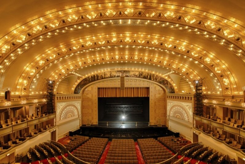 Concert halls are carefully designed to avoid sound wave dead spots. ©gnagnel/iStock/Thinkstock