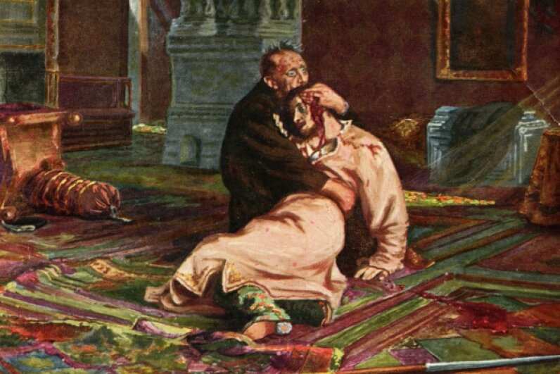 Not a good move, Ivan the Terrible. Culture Club/Getty Images