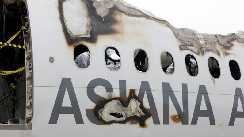Asiana Air, crash