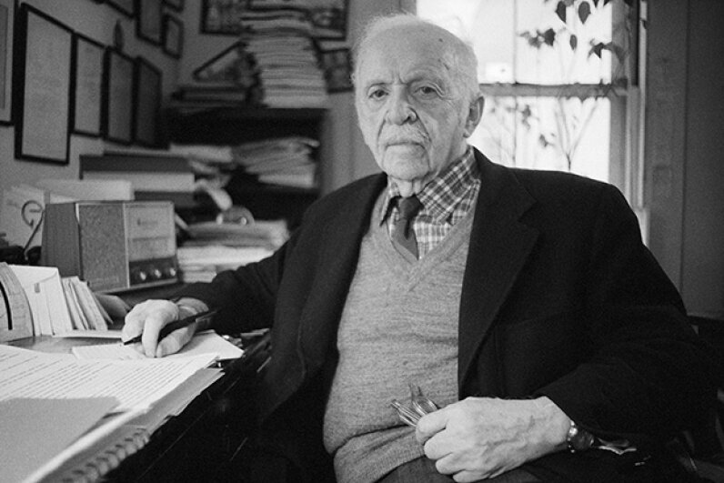 Edward Bernays (1891-1995) is considered the father of public relations and features a lot in our countdown of deceptive PR moves.  © Bettmann/CORBISmoves