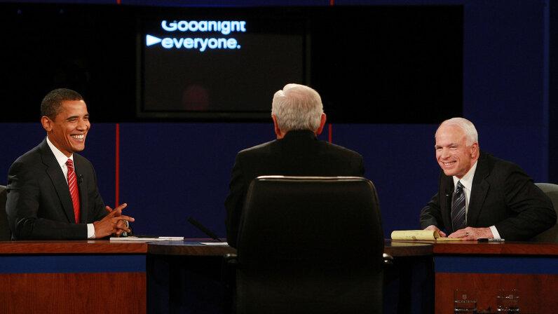 Obama, McCain 2008 debate