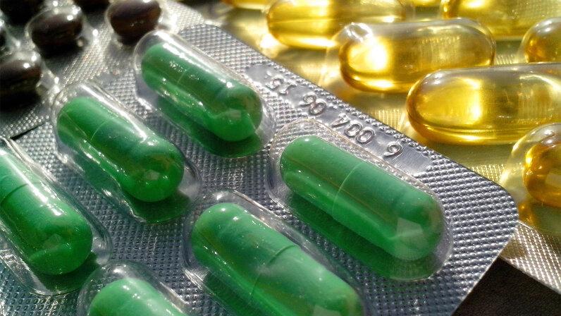 probiotic, pills