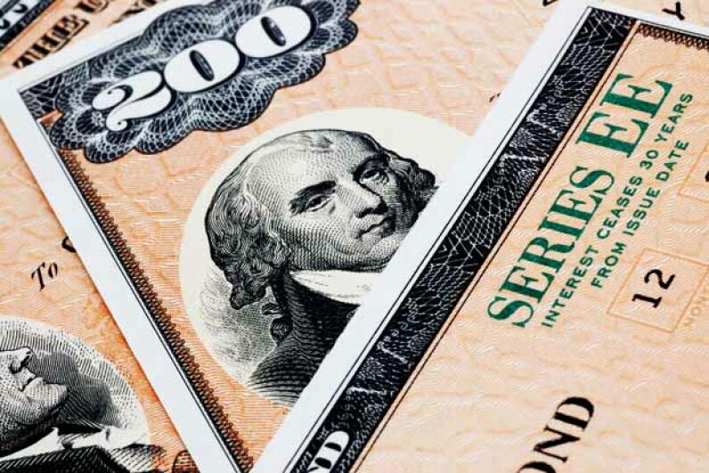 U.S. Treasury bonds used to be called Series EE bonds and were a popular gift for weddings and birthdays. iStockphoto/Thinkstock