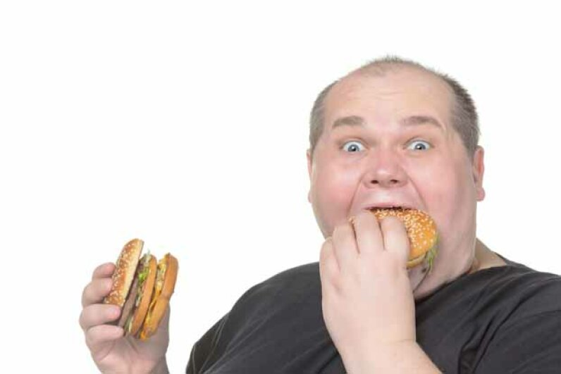 With 10,000 calorie burgers on the menu, guess it was only a matter of time before someone had a heart attack at the Heart Attack Grill. iStockphoto/Thinkstock
