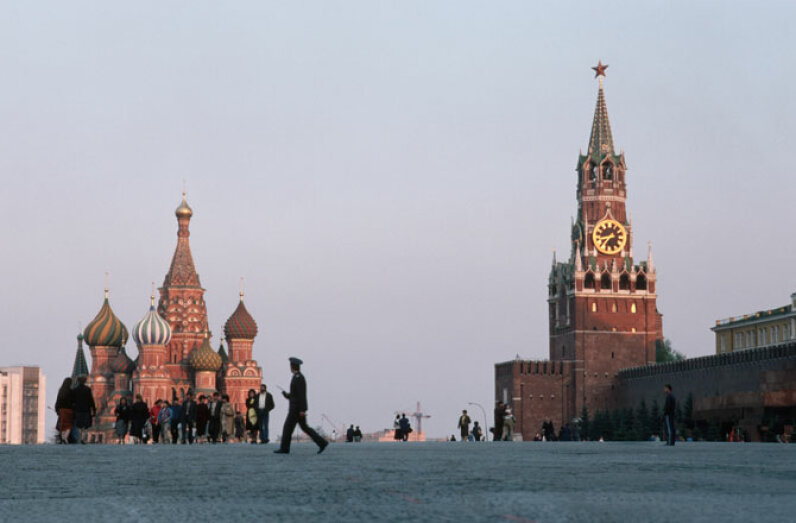 Moscow's Red Square Corbis