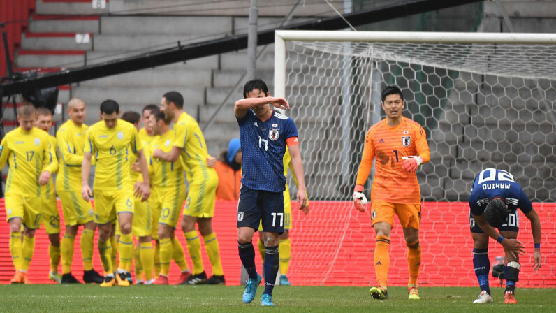 Eiji Kawashima, Makoto Hasebe, Japan soccer