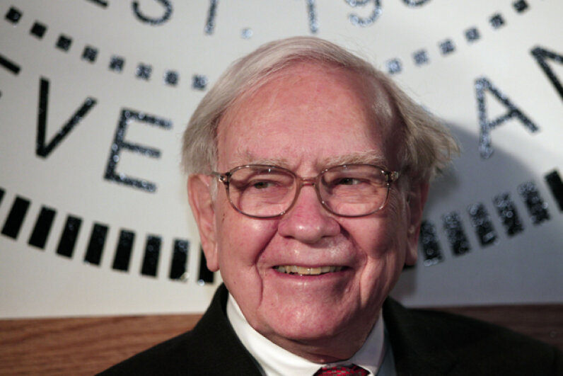 Berkshire Hathaway CEO Warren Buffett once said that his takeover of the textile company was his worst trade. But it gave him a name for his powerful investing firm. Bill Pugliano/Getty Images