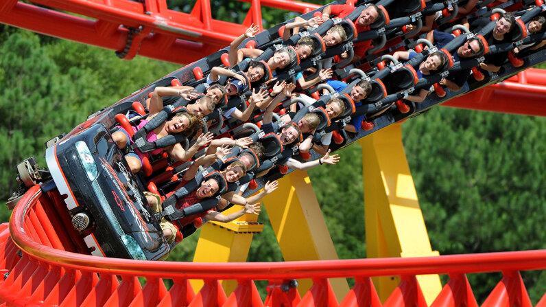 g-force roller coaster