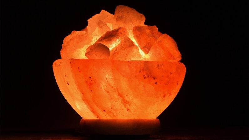 Himalayan salt lamp, health benefits