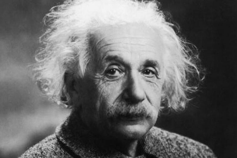 The genius himself:  Albert Einstein. MPI/Getty Images