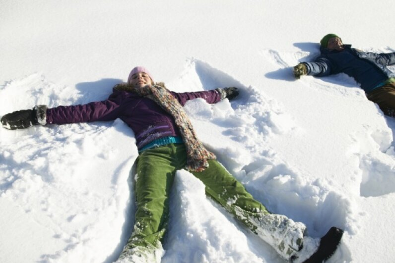 Snow day! Jochen Sand/Photodisc/Thinkstock