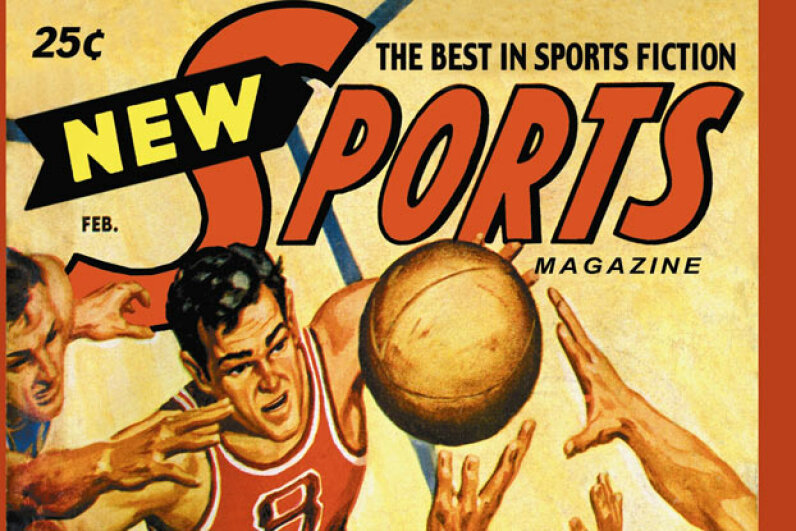 Chances are this 1951 sports magazine had a story on the college hoops scandal. Buyenlarge/Getty Images