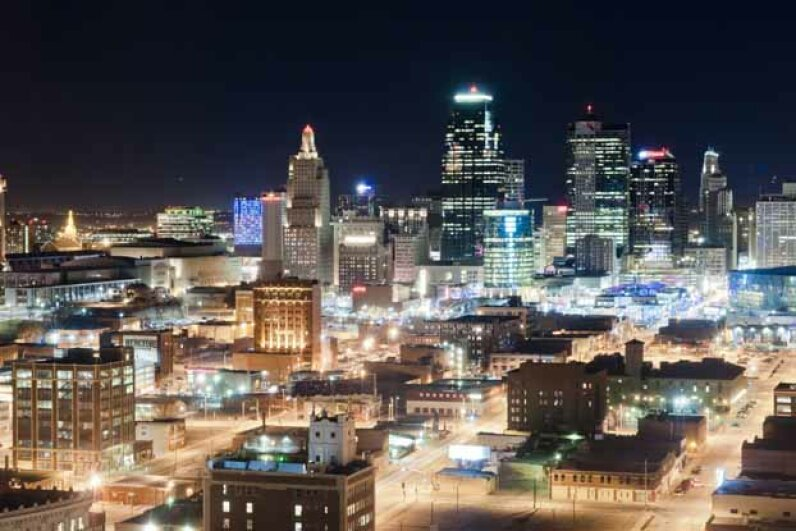 Kansas City is home to the most freeway lane miles per capita among metro areas with more than 1 million residents. Rowly Emmett/Flckr/Getty Images