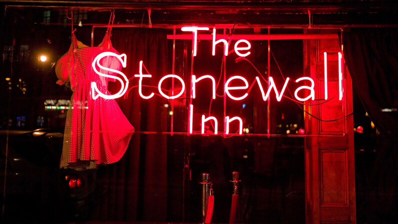 The Stonewall Inn, like many other gay bars, was raided in 1969. But on one June night, a raid turned into a riot. Ben Hider/Getty Images