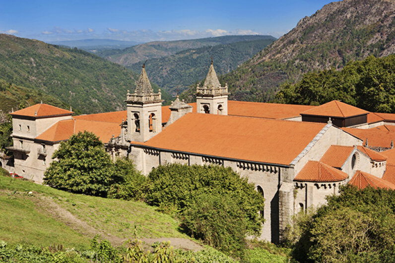 This former monastery dates back to the 6th and 7th centuries. Alex Robinson/AWL Images/Getty Images
