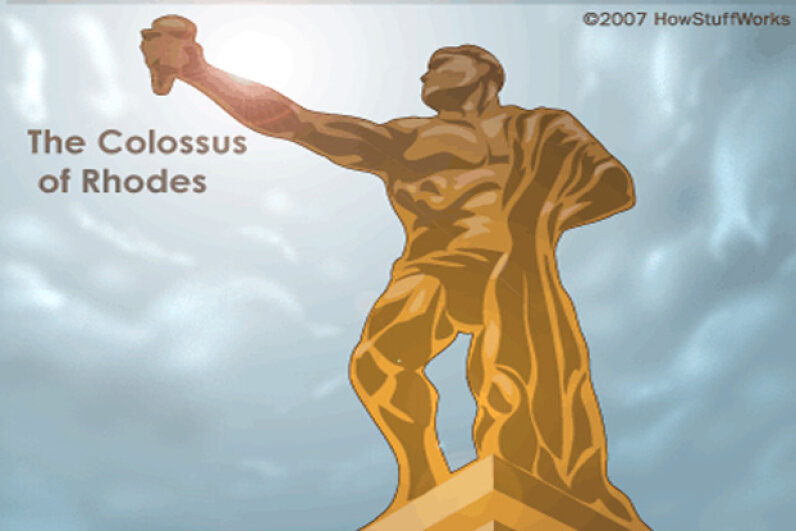The Colossus of Rhodes, HowStuffWorks-style © 2007 HowStuffWorks