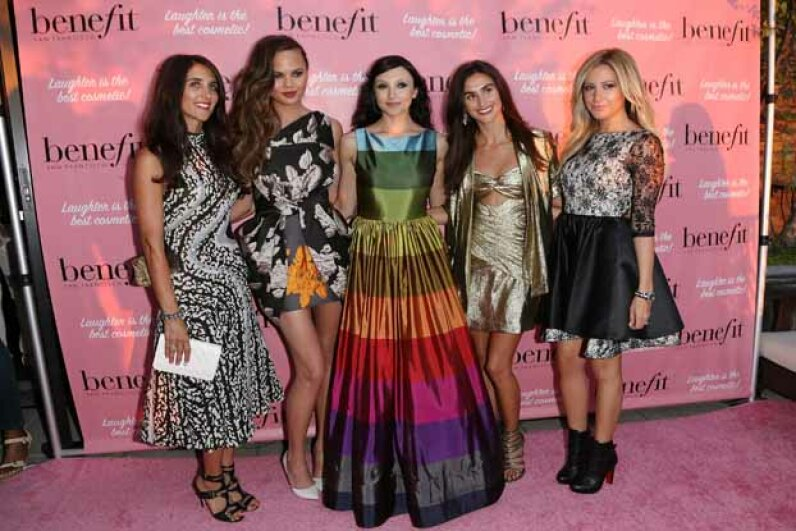 Since skirts of all different lengths are popular right now, does that indicate the economy is schizophrenic? Anna Webber/Getty Images for Benefit Cosmetics