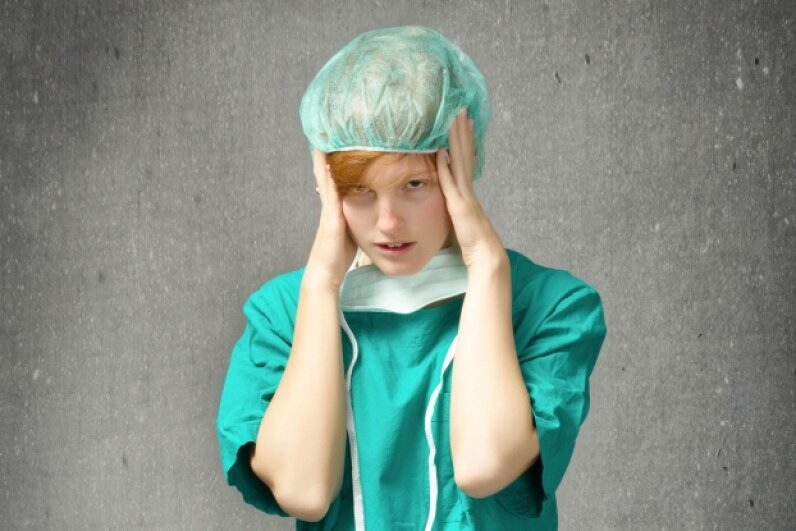 In truth, just about any job involving health care comes with stress. © marcogarrincha/iStockphoto