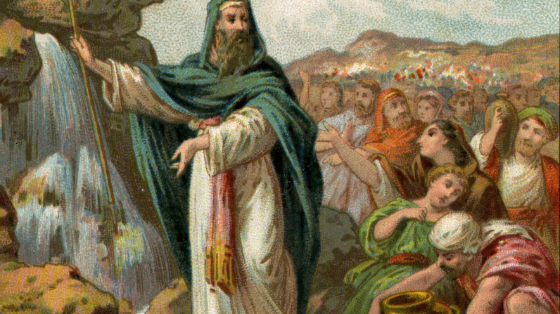 According to the Bible, the prophet Moses had a stutter. Culture Club/Hulton Archive/Getty Images