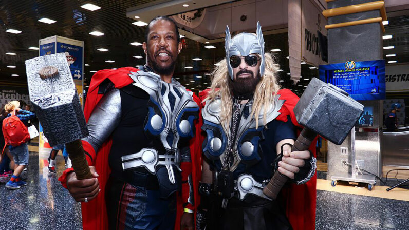 Attendees dressed in a variety of costumes take part in the Wizard World Chicago Comic Con 2016. Bilgin S. Sasmaz/Anadolu Agency/Getty Images