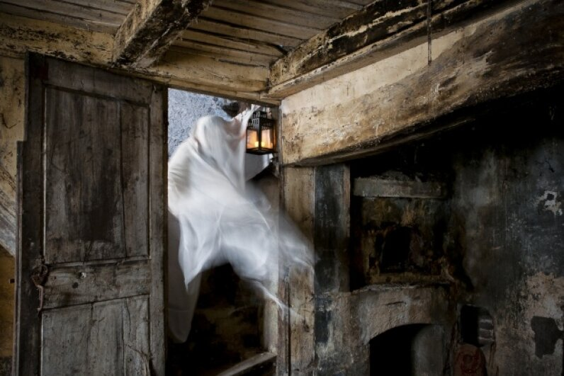 Wait a second, ghost! We have some folks who'd like to have a word. iStock/Thinkstock