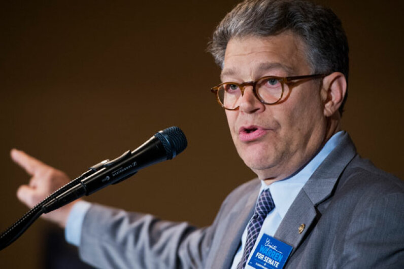 Minnesota Democratic Sen. Al Franken championed the Location Protection Privacy Act of 2012, which included provisions to prevent the use of stalking apps. ©Getty Images/Tom Williams/CQ Roll Call