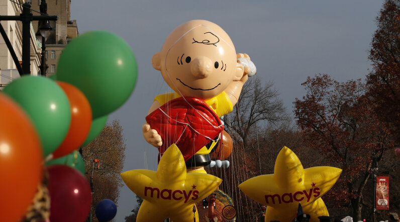 Charlie Brown balloon, Macy's Day Parade