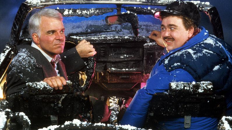 Steve Martin and John Candy