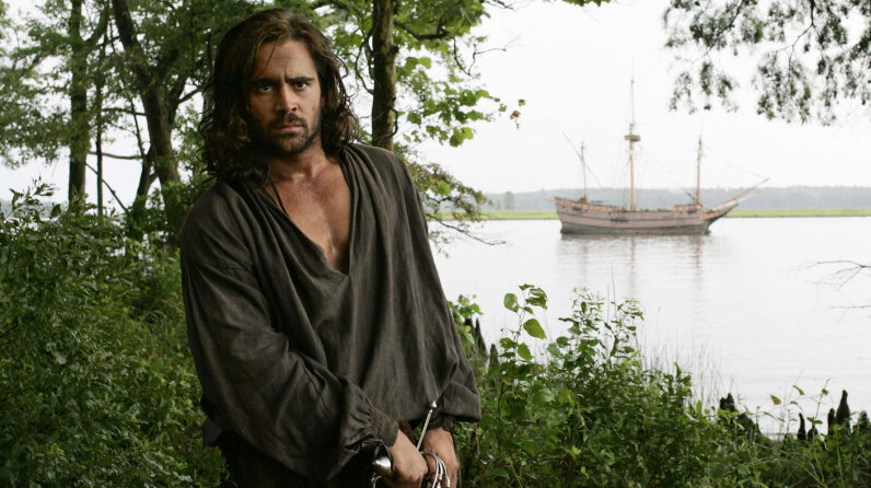 Colin Farrell, The New World