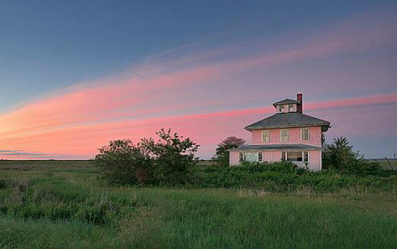 The Pink House on Plum Island is the focus of a major effort to save it from demolition. Jim Fenton/Save the Newbury Pink House