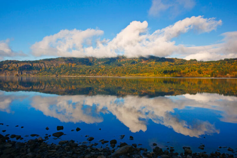 Stevenson sits on the Columbia River, a popular destination in its own right. © Craig Tuttle/Corbis